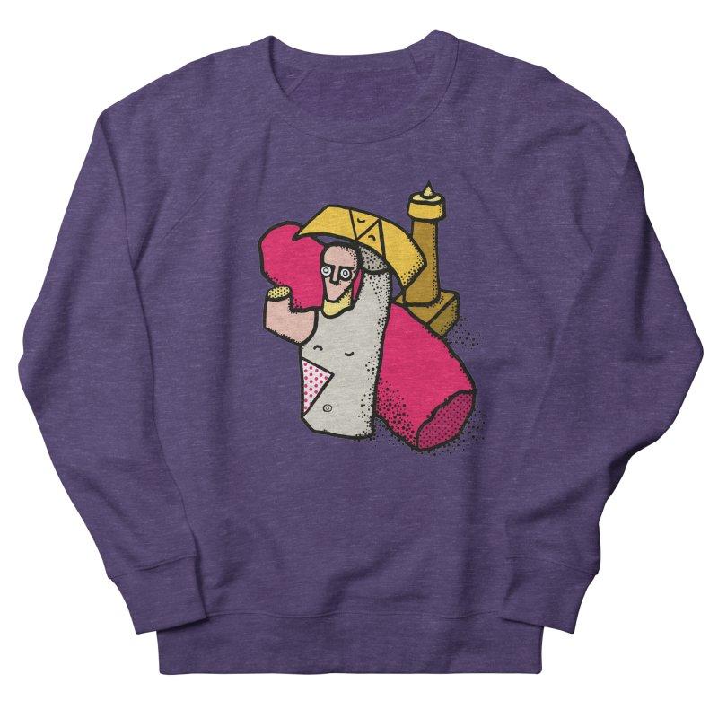 giant of mont'e prama Women's French Terry Sweatshirt by Bottone magliette