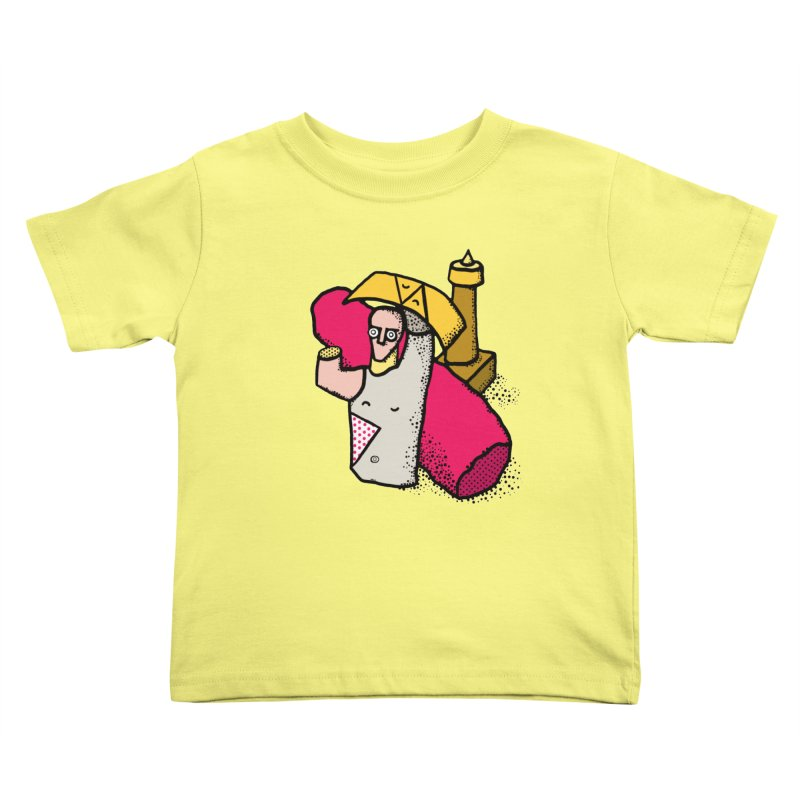 giant of mont'e prama Kids Toddler T-Shirt by Bottone magliette