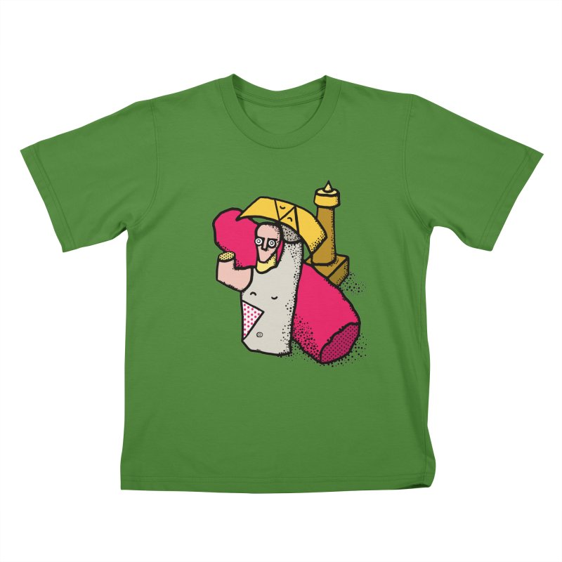 giant of mont'e prama Kids T-Shirt by Bottone magliette