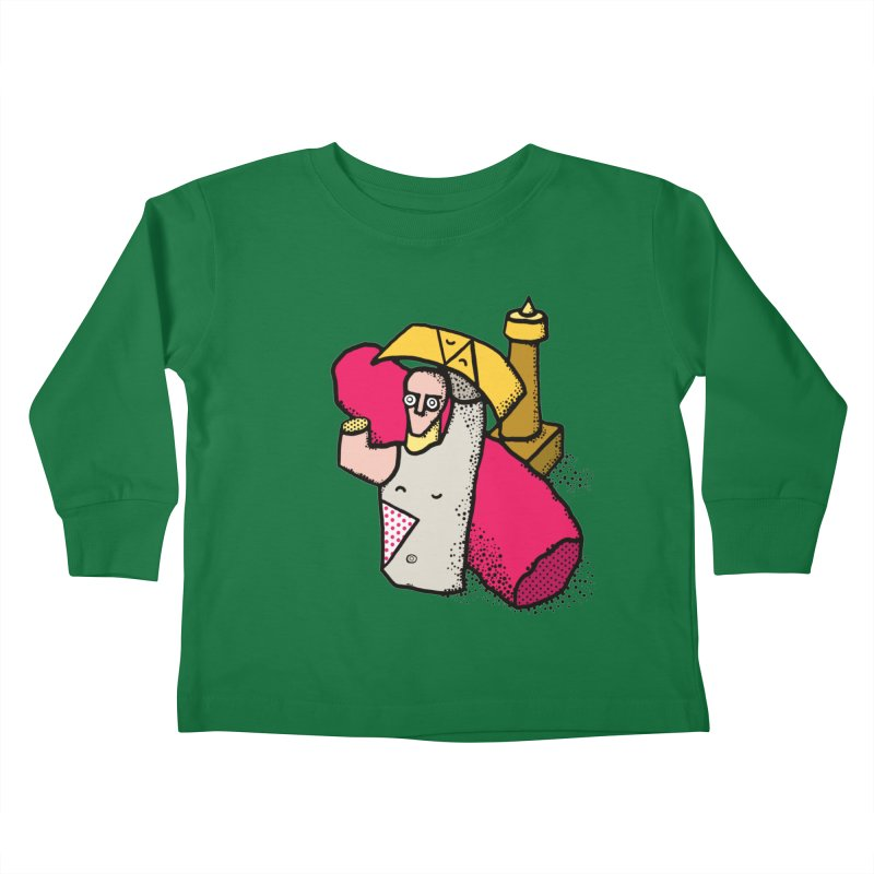 giant of mont'e prama Kids Toddler Longsleeve T-Shirt by Bottone magliette