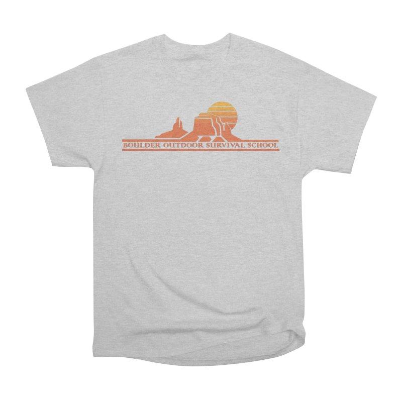 Boss Mesa Sunset Logo Women's T-Shirt by The Boulder Outdoor Survival School Store