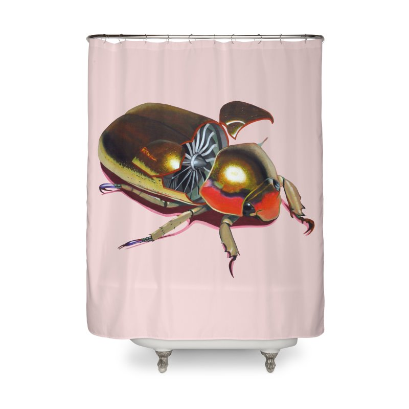 Midas' Minion Home Shower Curtain by Bowenstuff: a collection of stuff by Robert Bowen