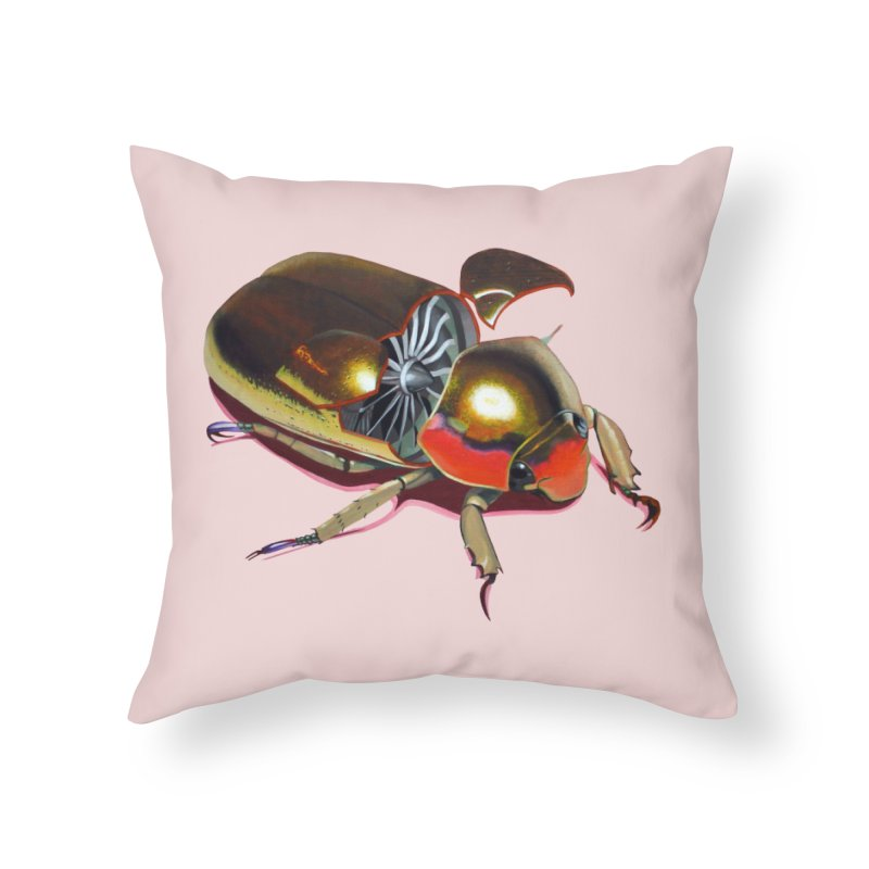 Midas' Minion Home Throw Pillow by Bowenstuff: a collection of stuff by Robert Bowen