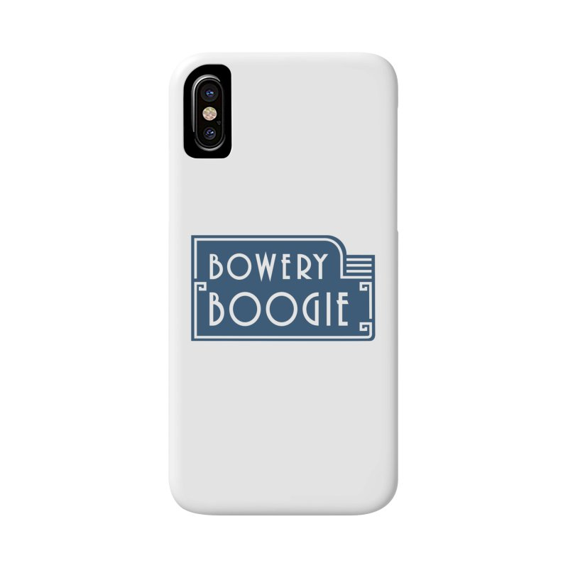 "Boogie ""Flophouse"" Sign Accessories Phone Case by Bowery Boogie Merch Shop"