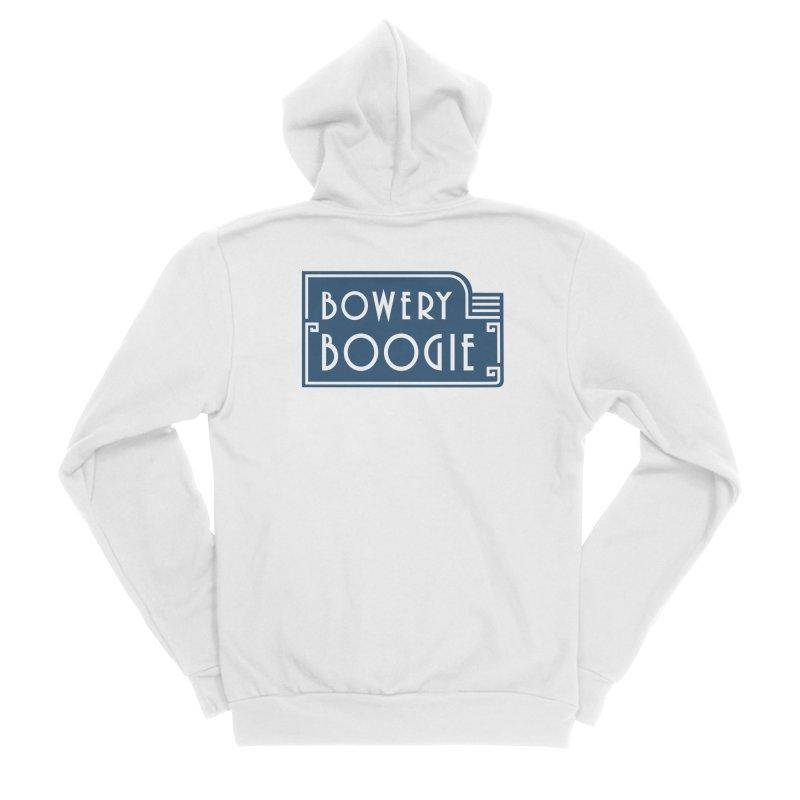 """Boogie """"Flophouse"""" Sign Men's Sponge Fleece Zip-Up Hoody by Bowery Boogie Merch Shop"""