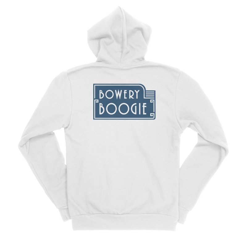 "Boogie ""Flophouse"" Sign Women's Sponge Fleece Zip-Up Hoody by Bowery Boogie Merch Shop"
