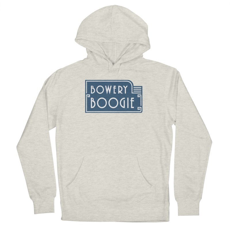 "Boogie ""Flophouse"" Sign Women's French Terry Pullover Hoody by Bowery Boogie Merch Shop"