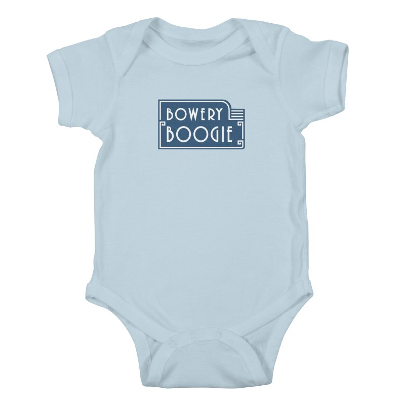 "Boogie ""Flophouse"" Sign Kids Baby Bodysuit by Bowery Boogie Merch Shop"