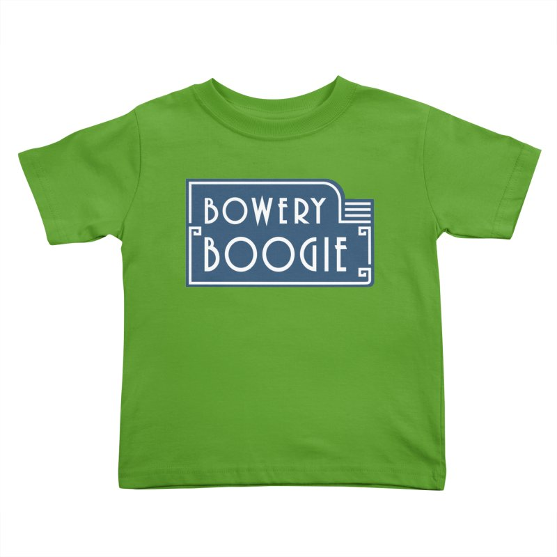 "Boogie ""Flophouse"" Sign Kids Toddler T-Shirt by Bowery Boogie Merch Shop"
