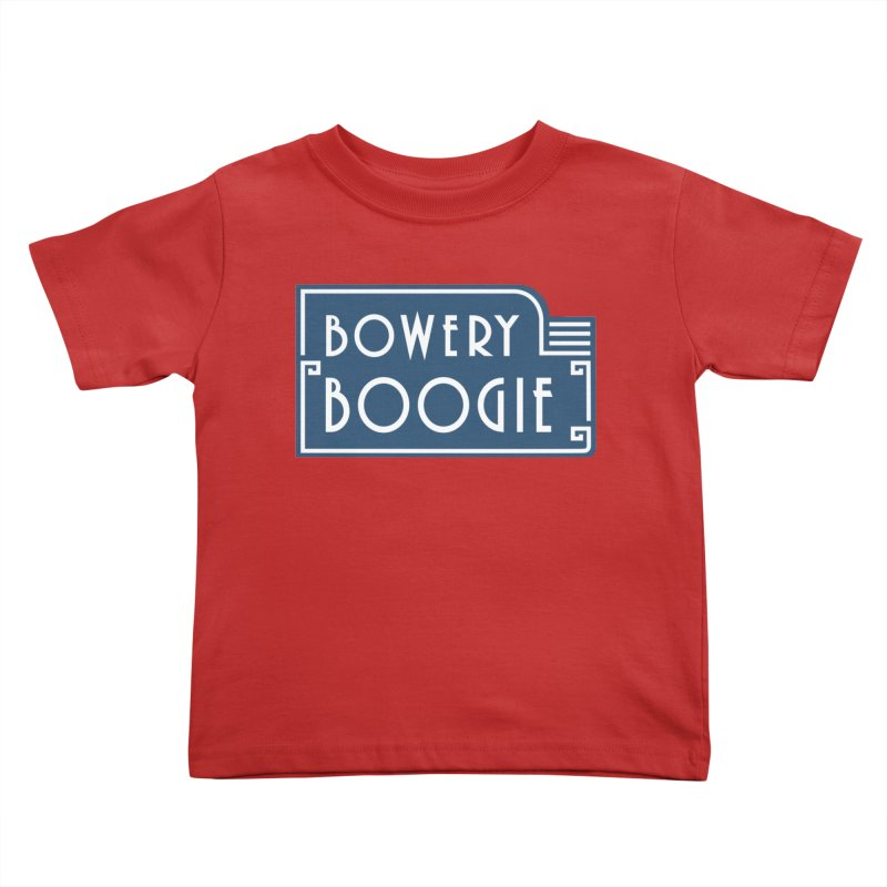 """Boogie """"Flophouse"""" Sign Kids Toddler T-Shirt by Bowery Boogie Merch Shop"""