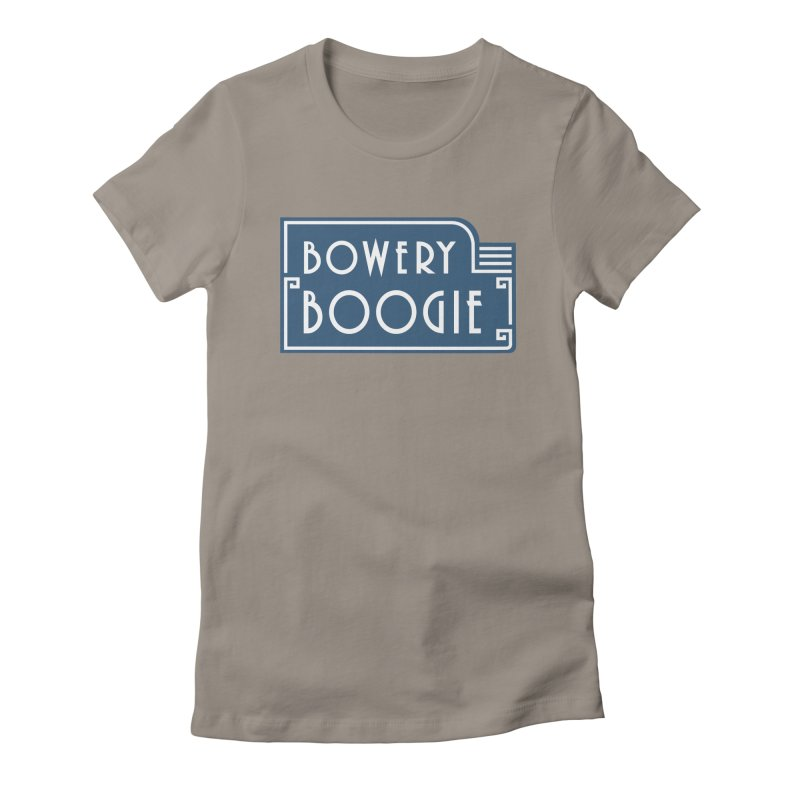 "Boogie ""Flophouse"" Sign Women's T-Shirt by Bowery Boogie Merch Shop"