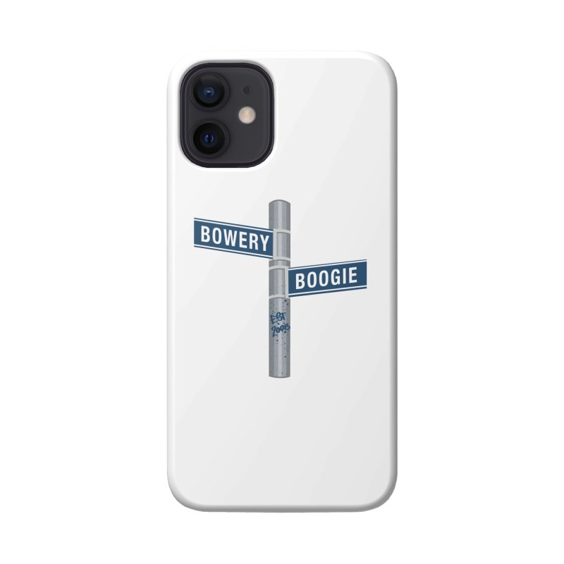 Boogie Street Sign Accessories Phone Case by Bowery Boogie Merch Shop