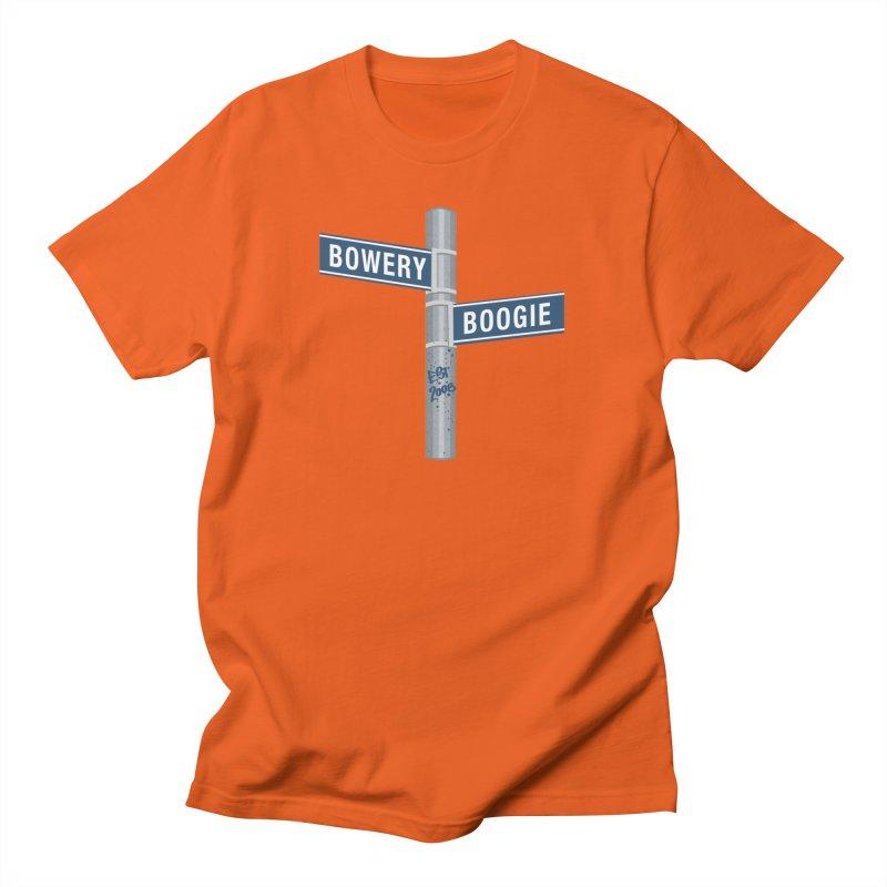 Boogie Street Sign Women's T-Shirt by Bowery Boogie Merch Shop