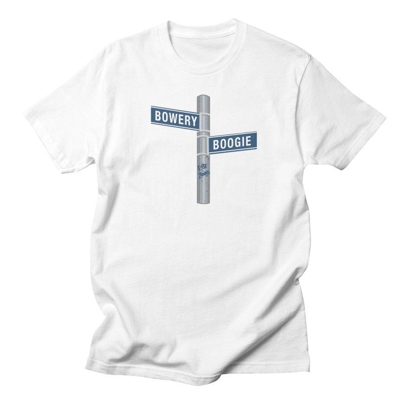 Boogie Street Sign Women's Unisex T-Shirt by Bowery Boogie Merch Shop