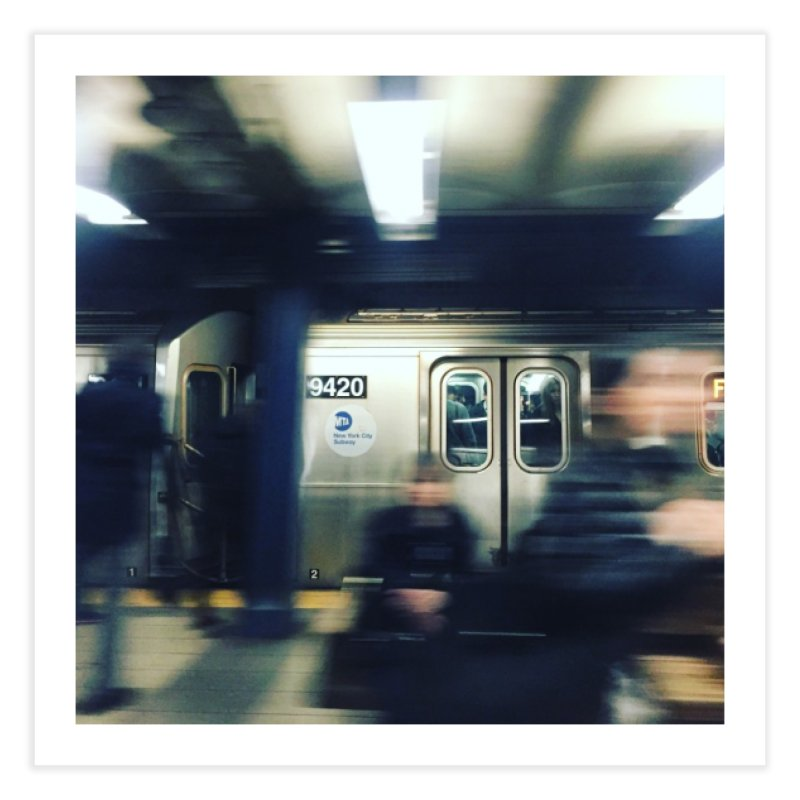 Subway Series, Pt. 1 Home Fine Art Print by Bowery Boogie Merch Shop