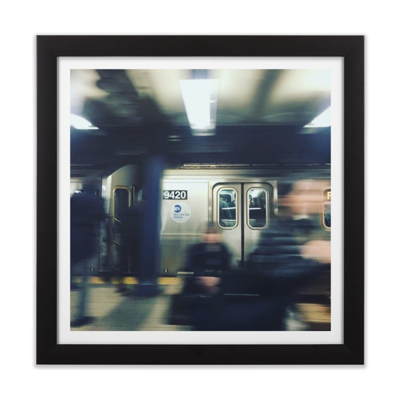 Subway Series, Pt. 1 Home Framed Fine Art Print by Bowery Boogie Merch Shop
