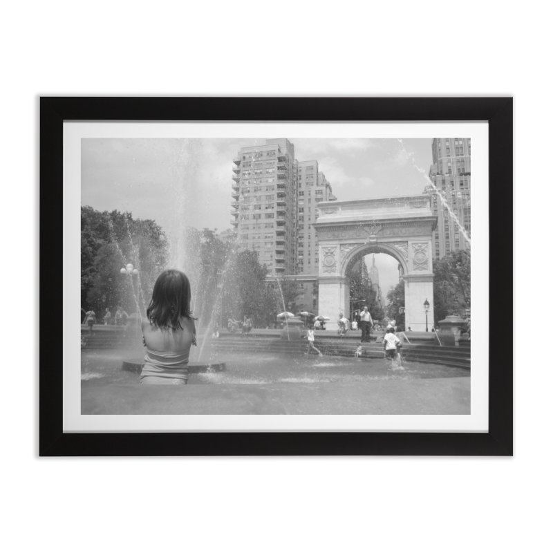 Fountains of Youth Home Framed Fine Art Print by Bowery Boogie Merch Shop