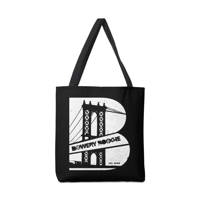 Boogie Bridge Accessories Bag by Bowery Boogie Merch Shop