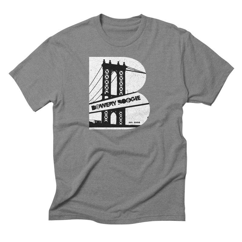 Boogie Bridge Men's T-Shirt by Bowery Boogie Merch Shop