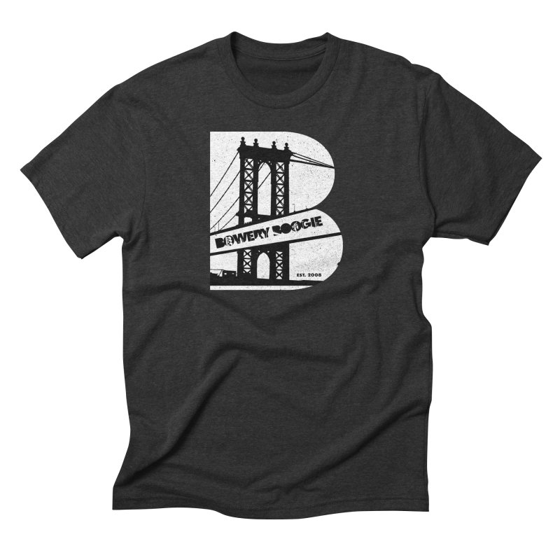 Boogie Bridge Men's Triblend T-Shirt by Bowery Boogie Merch Shop
