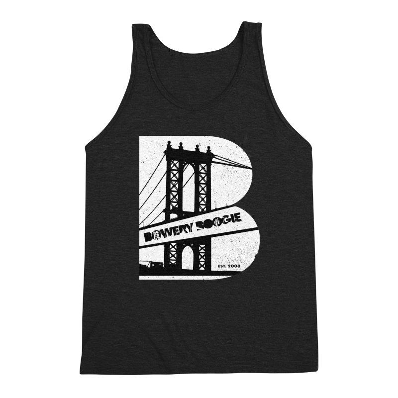Boogie Bridge Men's Triblend Tank by Bowery Boogie Merch Shop
