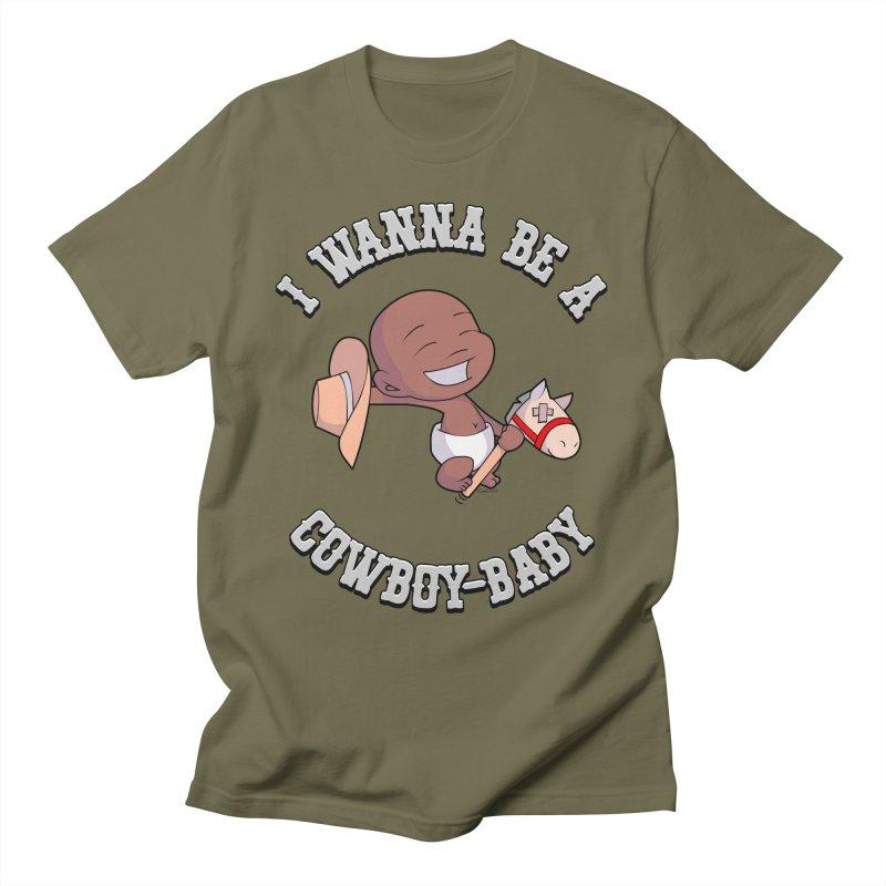 Cowboy-Baby Men's T-Shirt by boxset's Artist Shop