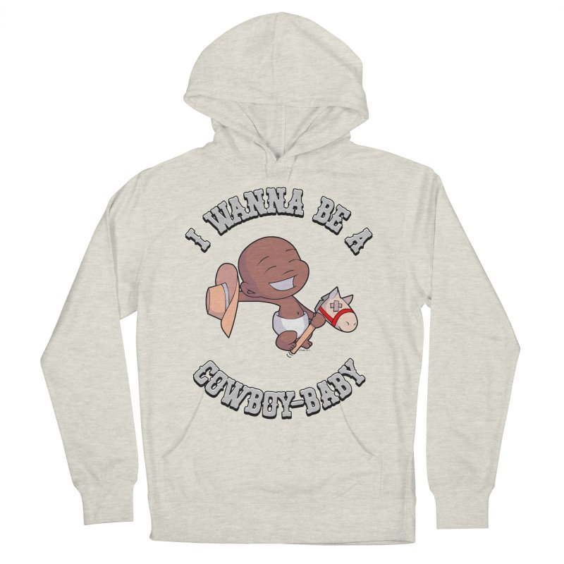 Cowboy-Baby Women's French Terry Pullover Hoody by boxset's Artist Shop