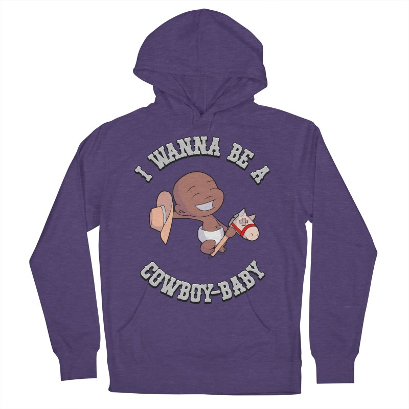 Cowboy-Baby Men's French Terry Pullover Hoody by boxset's Artist Shop