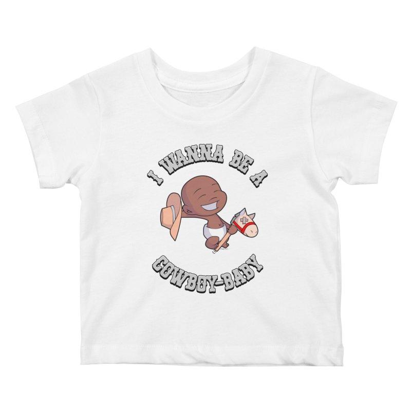 Cowboy-Baby Kids Baby T-Shirt by boxset's Artist Shop