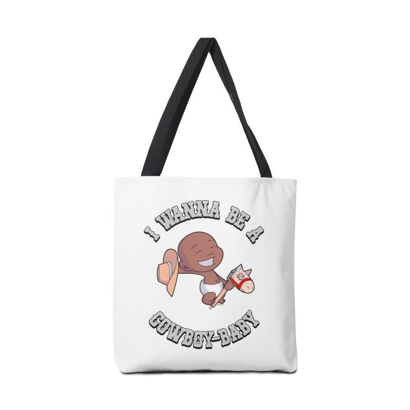 Cowboy-Baby Accessories Tote Bag Bag by boxset's Artist Shop