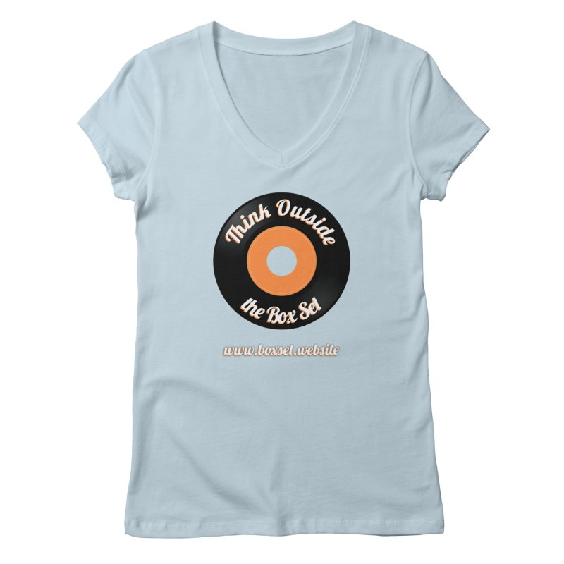 TOtBS logo Women's V-Neck by boxset's Artist Shop