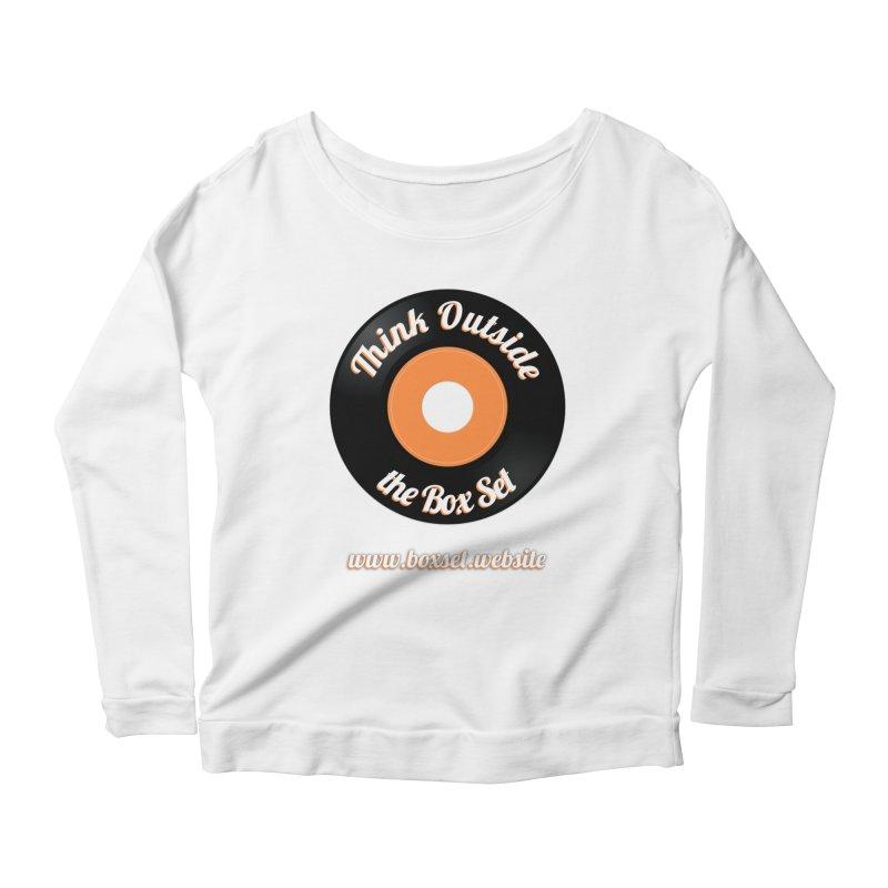 TOtBS logo Women's Scoop Neck Longsleeve T-Shirt by boxset's Artist Shop