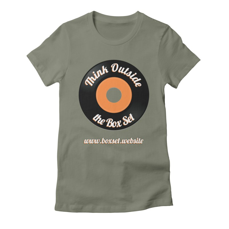 TOtBS logo Women's Fitted T-Shirt by boxset's Artist Shop