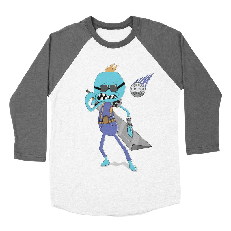 Seeking Strife Men's Baseball Triblend T-Shirt by boysetsfrog's Artist Shop