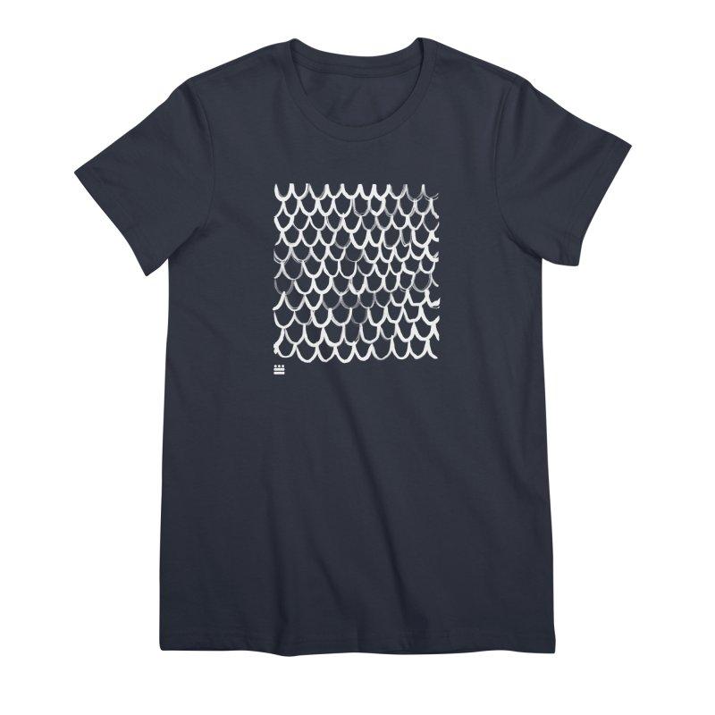 Dragon Glyph Women's Premium T-Shirt by Boy Vs Dragon