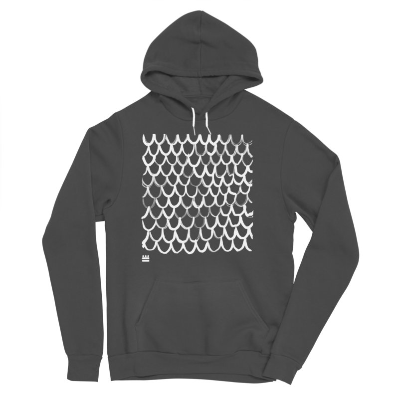 Dragon Glyph Women's Sponge Fleece Pullover Hoody by Boy Vs Dragon