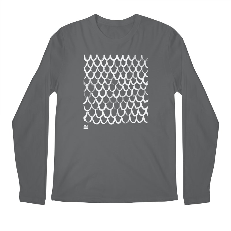 Dragon Glyph Men's Regular Longsleeve T-Shirt by Boy Vs Dragon