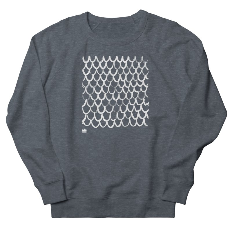 Dragon Glyph Men's French Terry Sweatshirt by Boy Vs Dragon