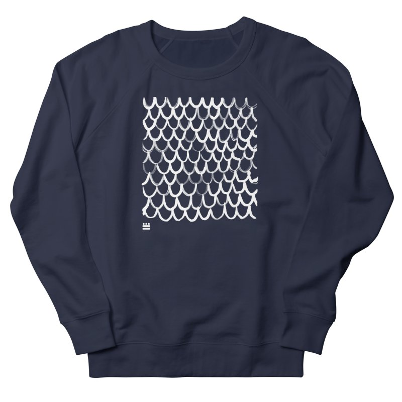 Dragon Glyph Men's French Terry Sweatshirt by Boy Vs Dragon