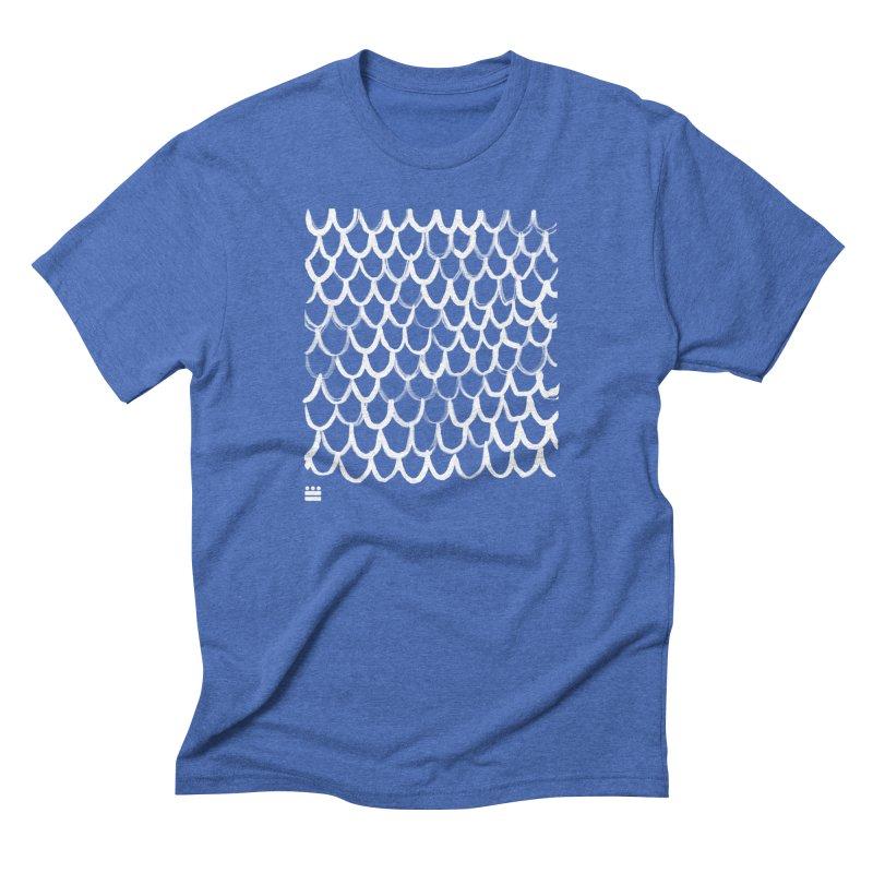 Dragon Glyph Men's Triblend T-Shirt by Boy Vs Dragon