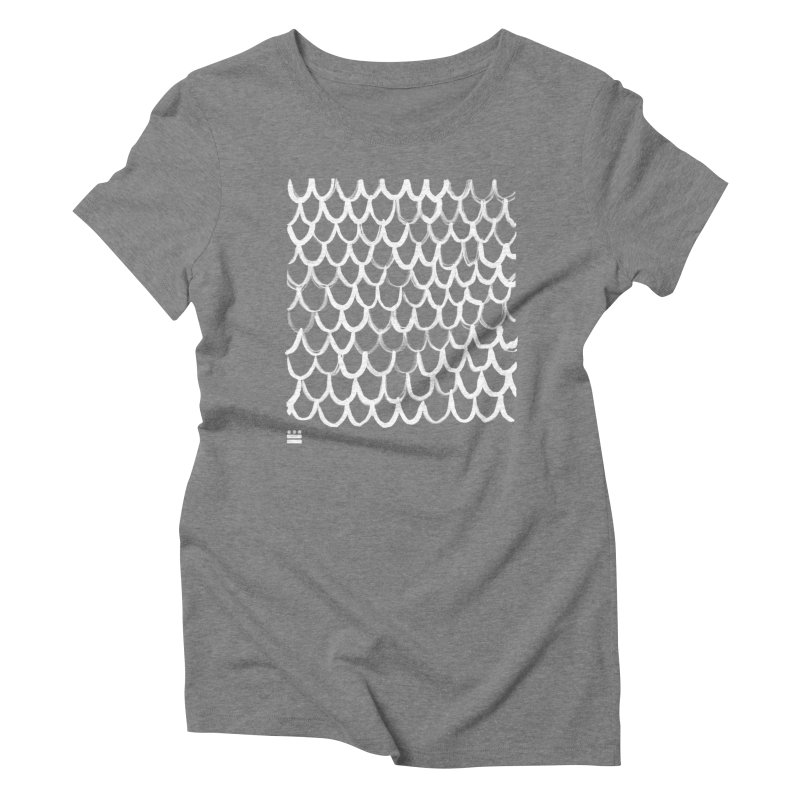 Dragon Glyph Women's Triblend T-Shirt by Boy Vs Dragon