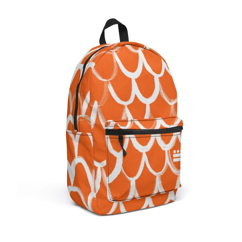 Orange Pack Accessories Backpack Bag by Boy Vs Dragon