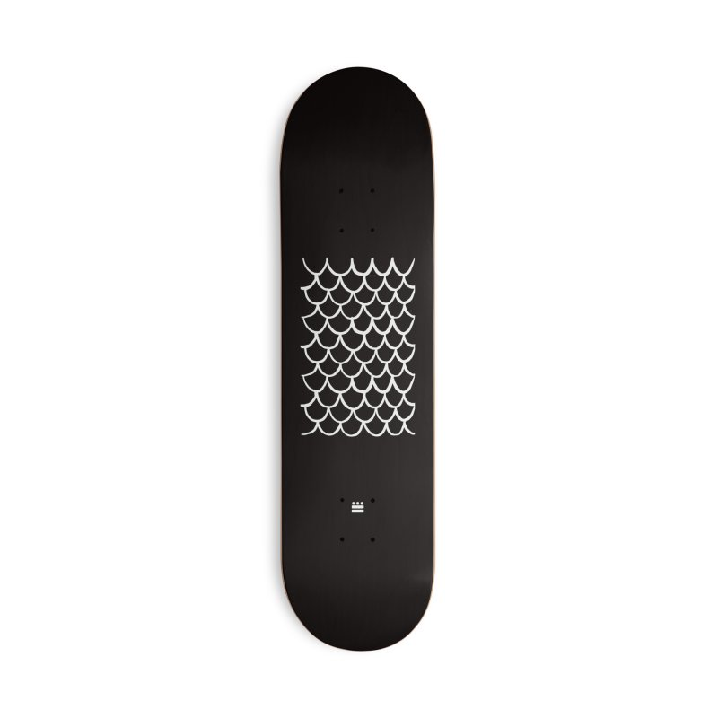 Black Dragon Accessories Deck Only Skateboard by Boy Vs Dragon