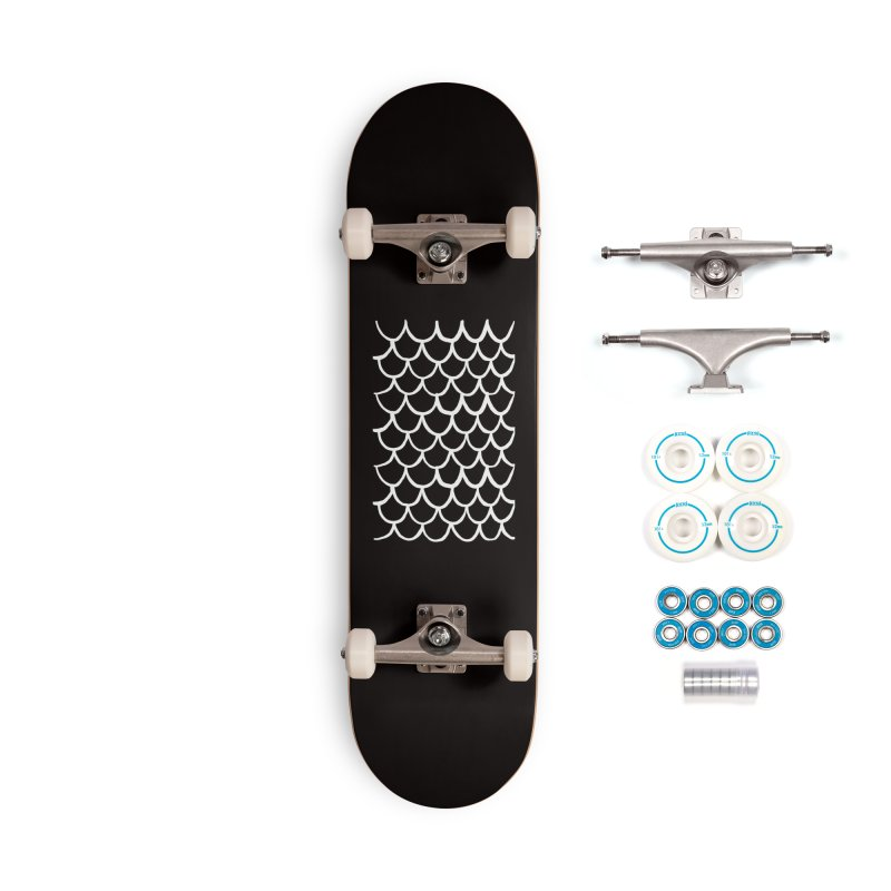 Black Dragon Accessories Skateboard by Boy Vs Dragon