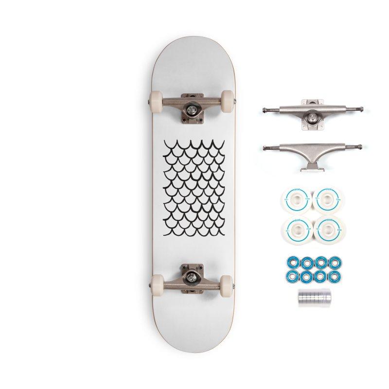 White Dragon Accessories Complete - Basic Skateboard by Boy Vs Dragon