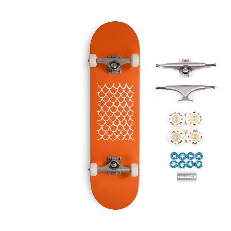 Orange Dragon Accessories Skateboard by Boy Vs Dragon