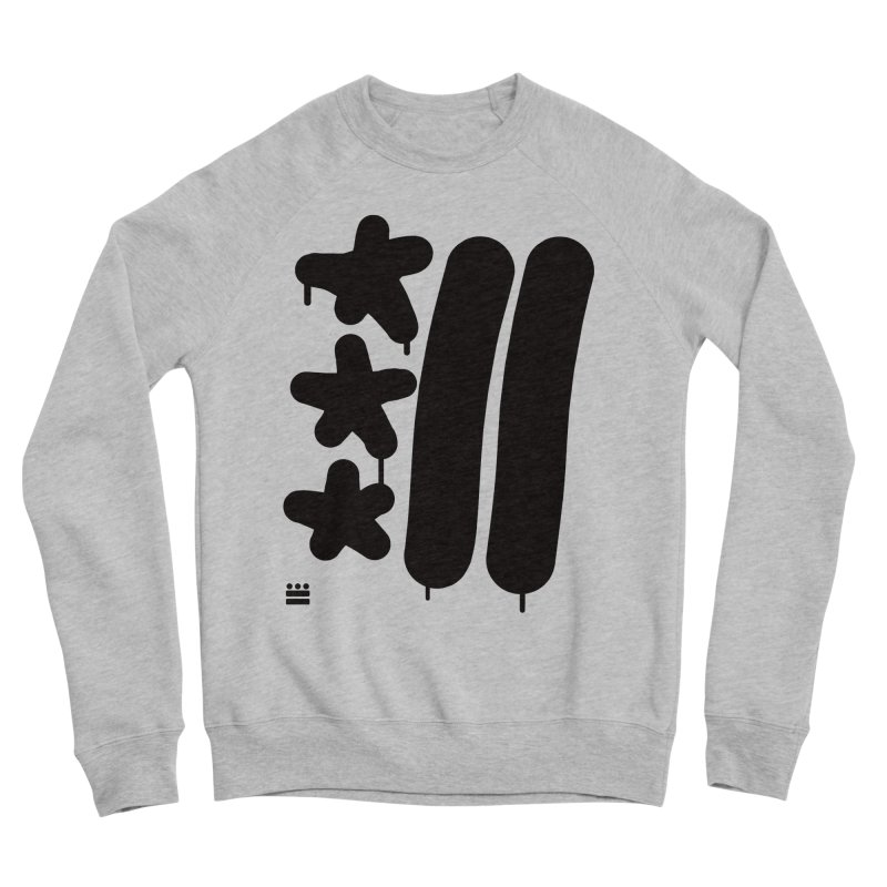 Glyph Drip Men's Sponge Fleece Sweatshirt by Boy Vs Dragon