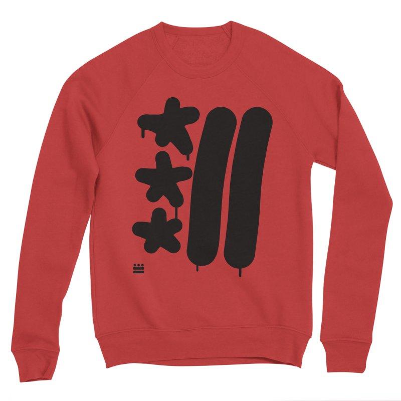 Glyph Drip Women's Sponge Fleece Sweatshirt by Boy Vs Dragon