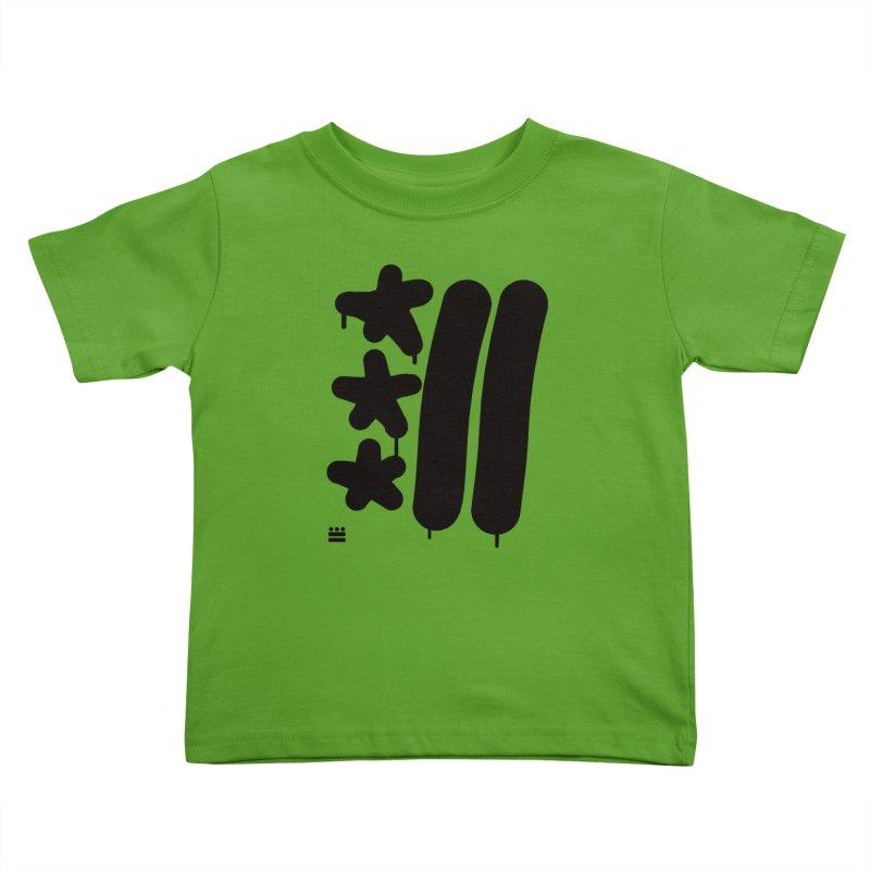 Glyph Drip Kids Toddler T-Shirt by Boy Vs Dragon