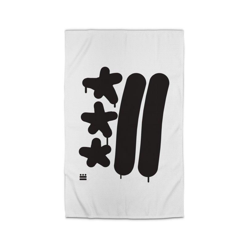 Glyph Drip Home Rug by Boy Vs Dragon